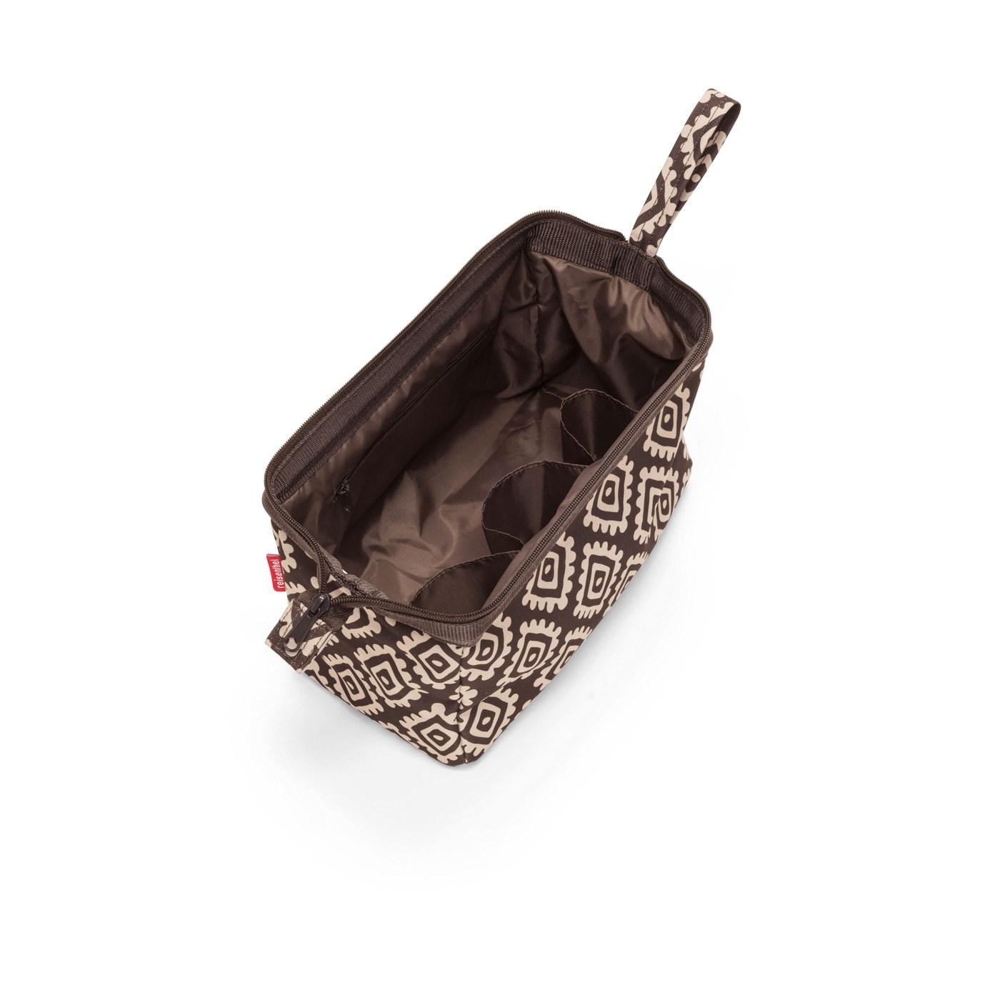 Kosmetická taška TRAVELCOSMETIC diamonds mocha_0
