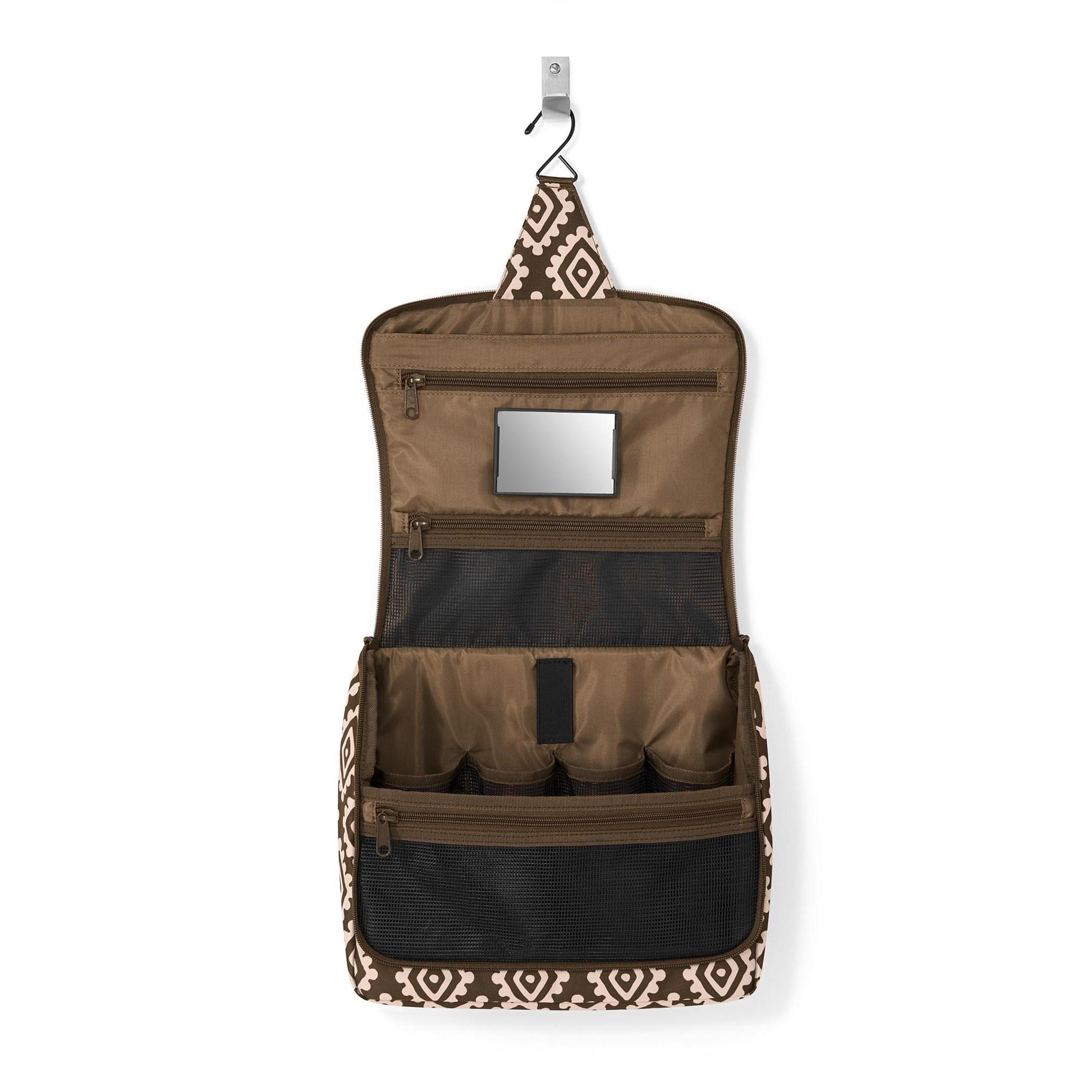 Kosmetická taška TOILETBAG XL diamonds mocha_0