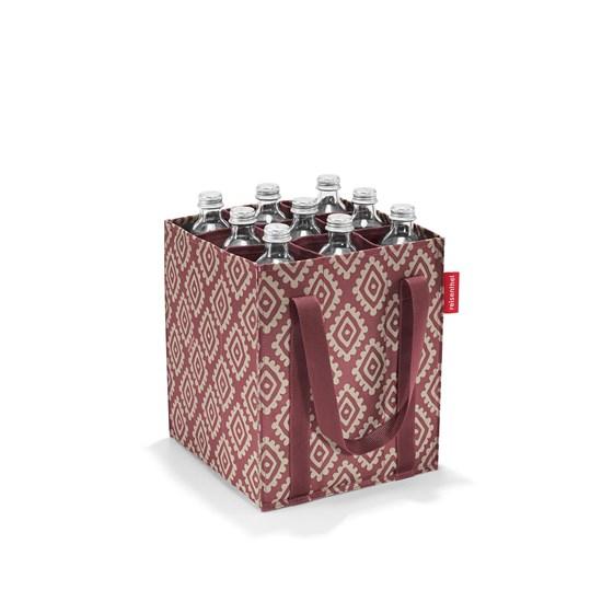Taška na lahve BOTTLEBAG diamonds rouge_0