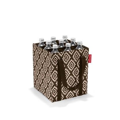 Taška na lahve BOTTLEBAG diamonds mocha_0