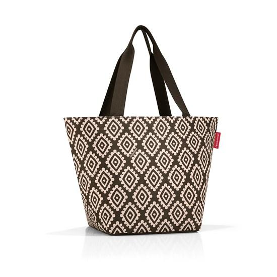 Nákupní taška SHOPPER M diamonds mocha_1