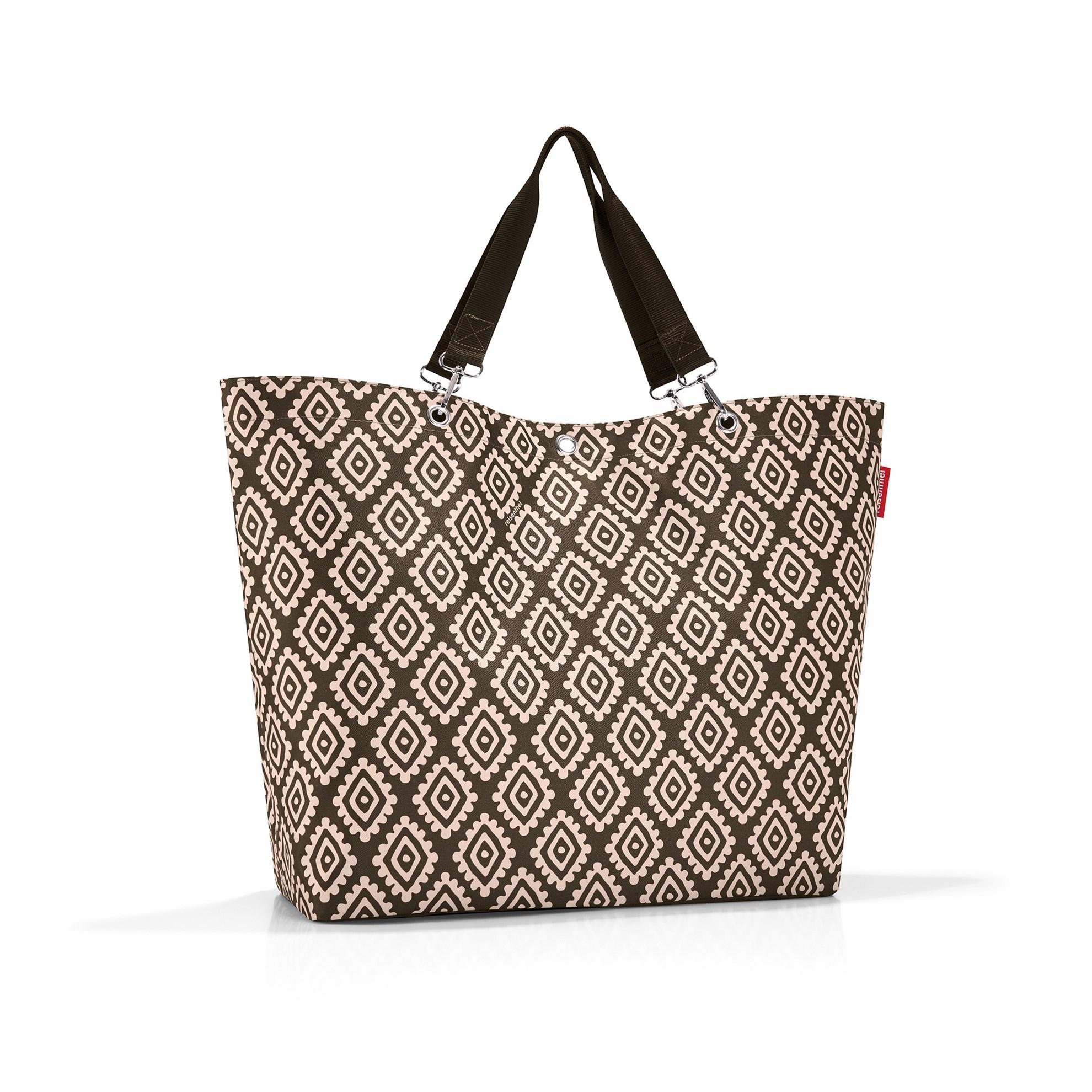Nákupní taška SHOPPER XL diamonds mocha_1