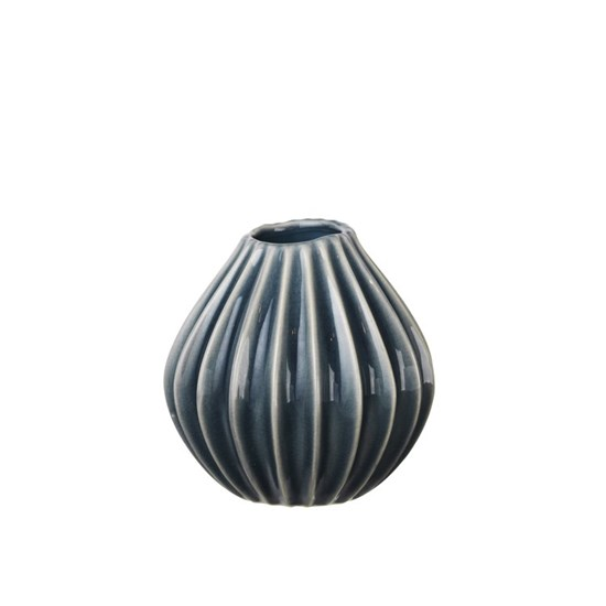 Váza WIDE modrá 15cm_0