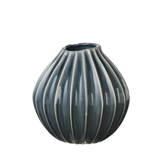 Váza WIDE modrá 25cm_0