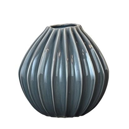 Váza WIDE modrá 30cm_0