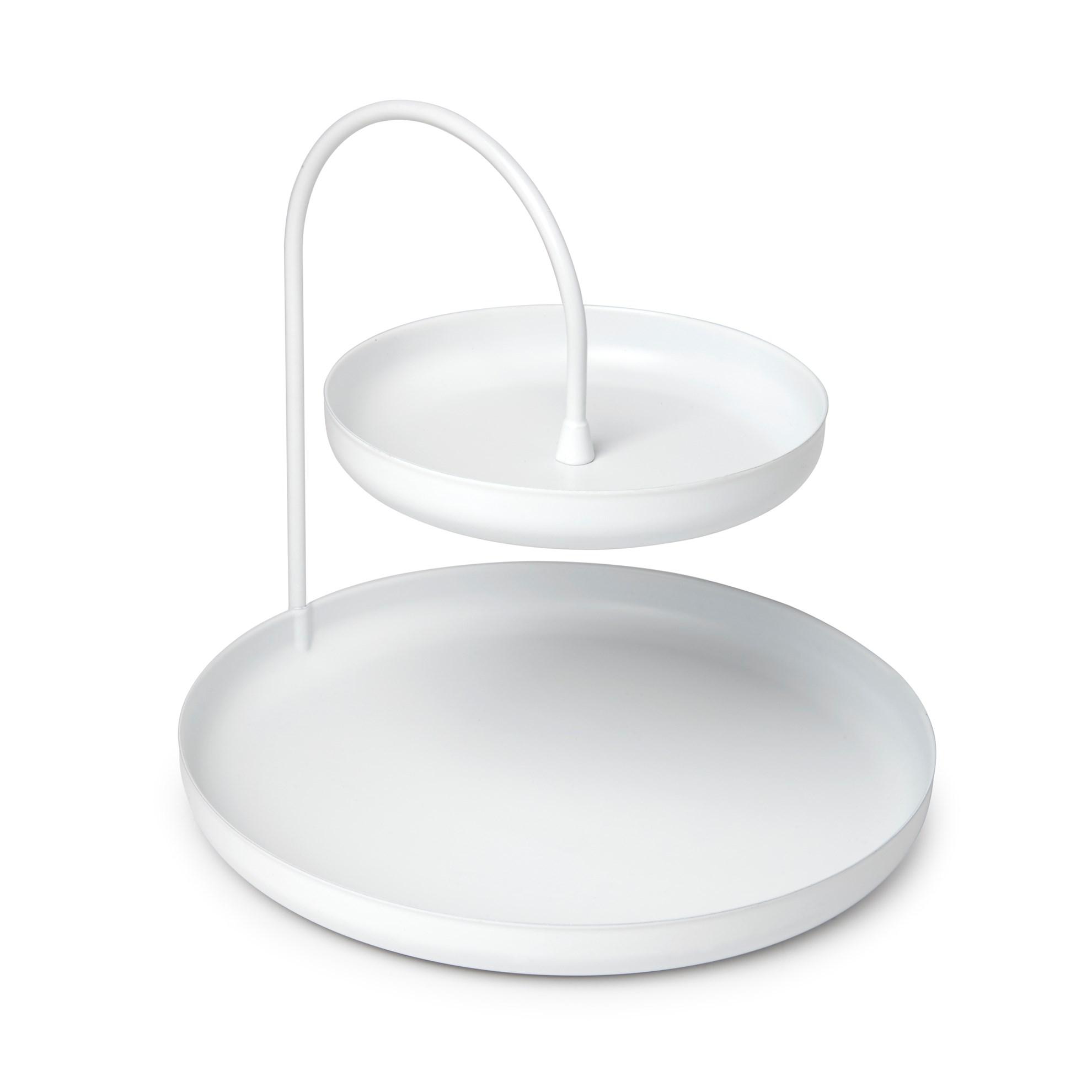 Šperkovnice POISE 18 cm bílá_3