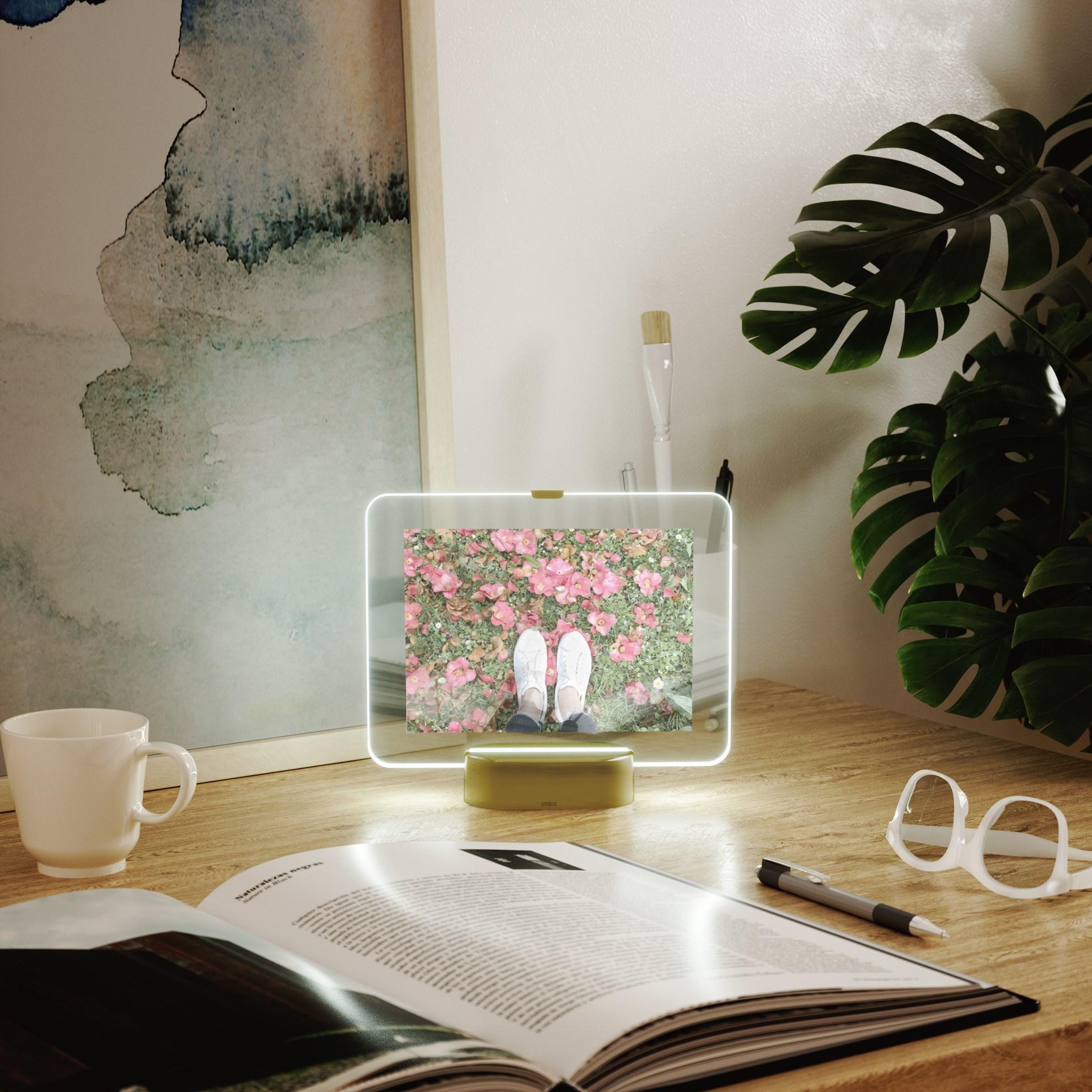 LED fotorámeček GLO 10x15 cm_0