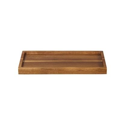 Dřevěný podnos WOOD 25x14 cm_1