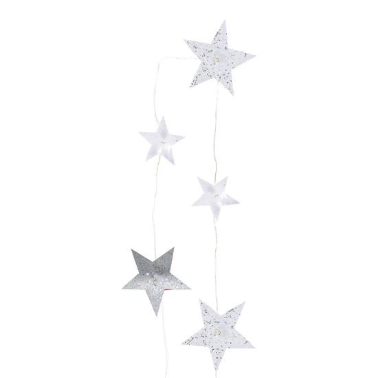 Girlanda hvězda 5 LED_0