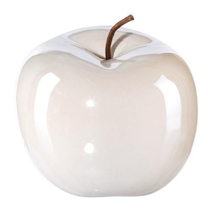 Keramické jablko perlový efekt_0