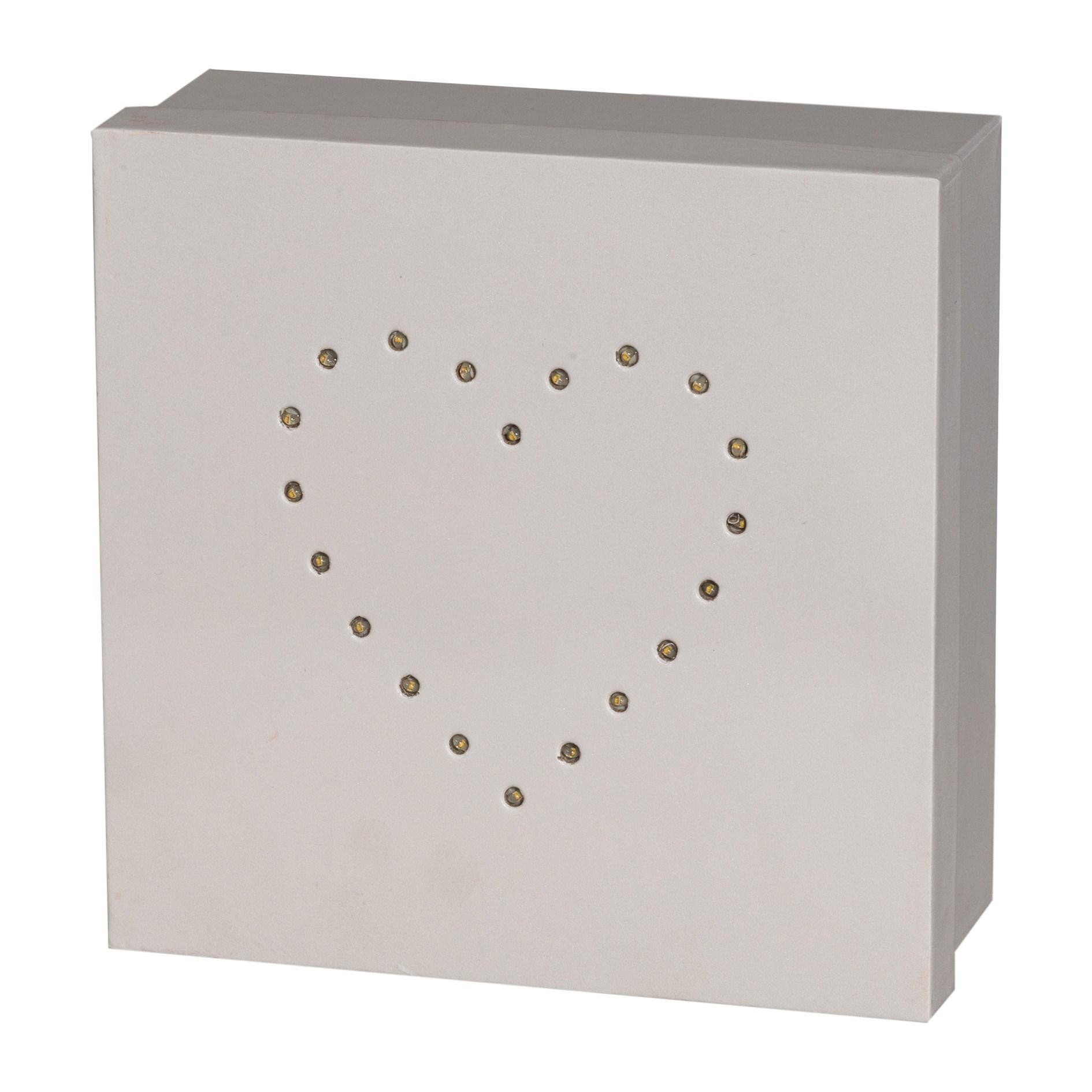 Geschenkbox quadratisch m.LED 3er Set He_0