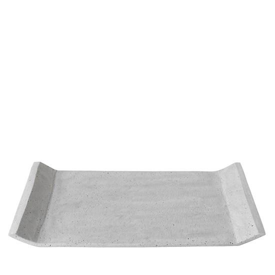 Podnos MOON 40 cm světle šedý_0