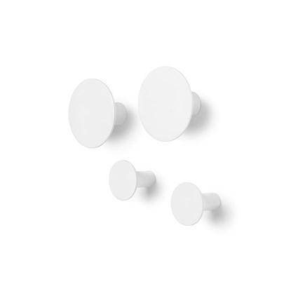 Háčky na zeď PONTO SET/4ks bílé_0
