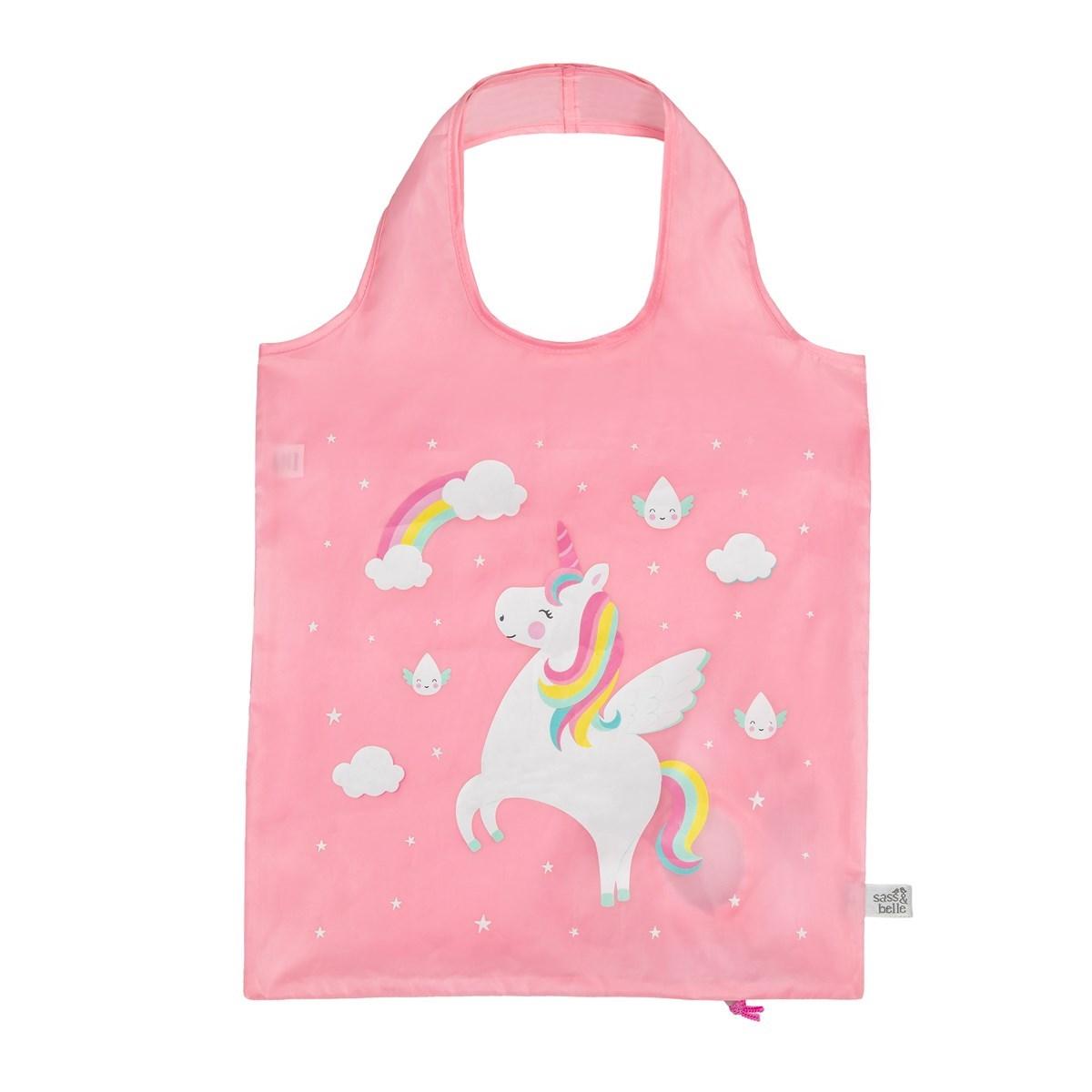 Skládací taška Rainbow Unicorn_2