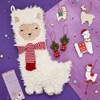 Vánoční ponožka Fa La La Llama_0