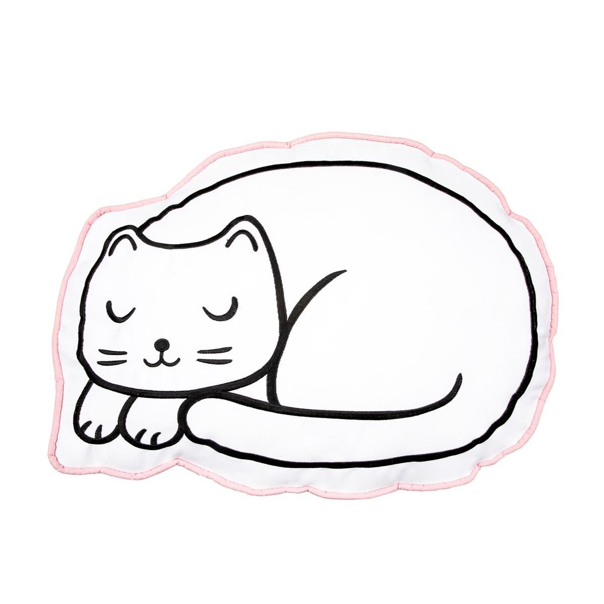 Polštář na zdřímnutí vč.výplně Cutie Cat_1