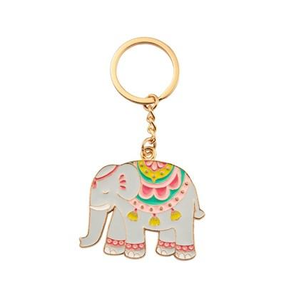 Přívěsek na klíče Mandala Elephant_0