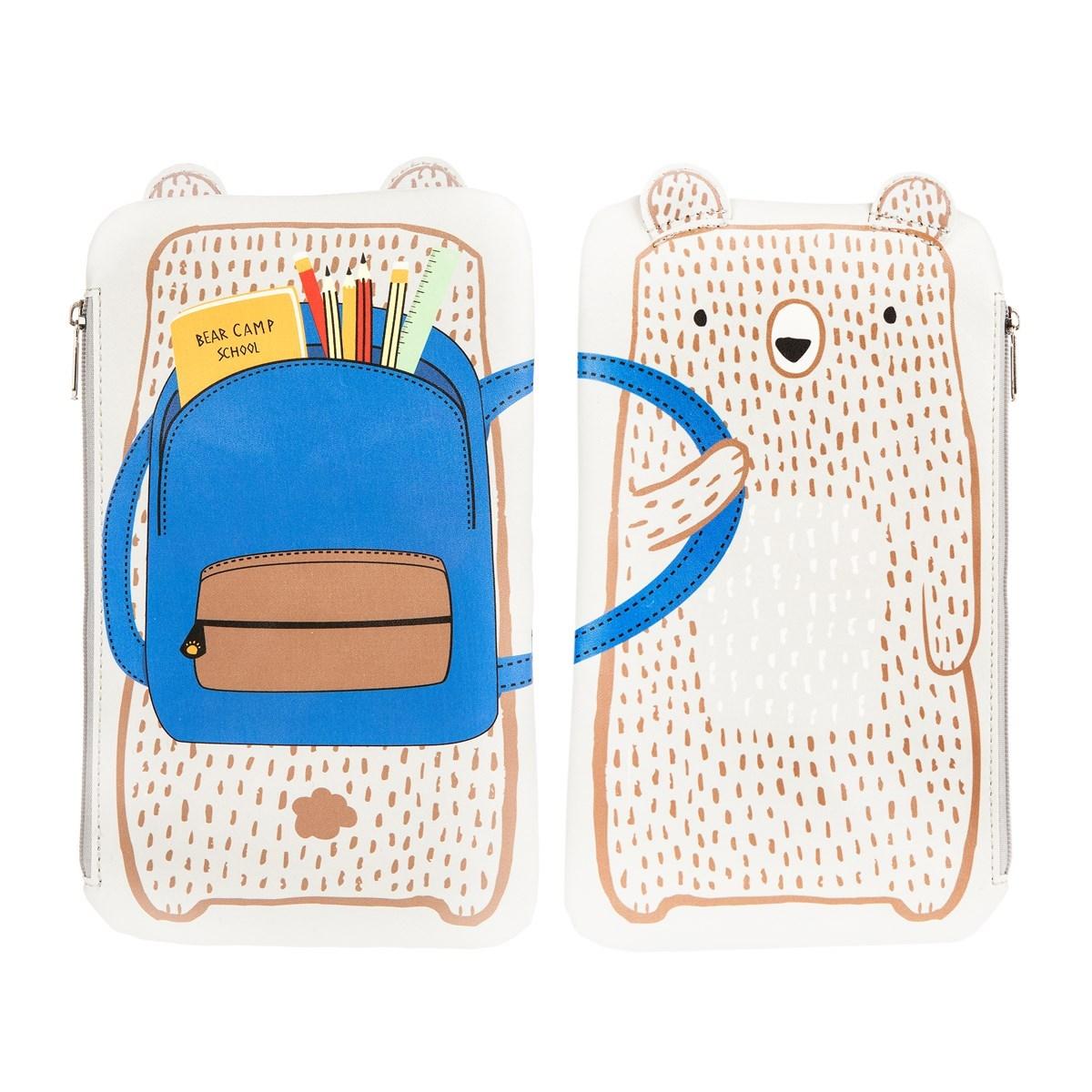 Penál na tužky Bear Camp_1