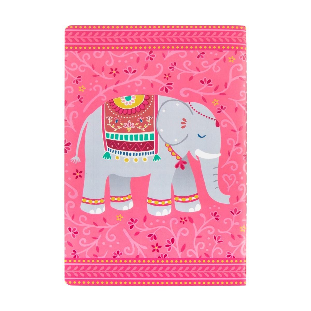 Pozn.blok A5 Mandala Elephant_0