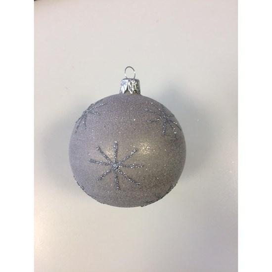 Vánoční koule 8 cm hvězdička / stromek_0