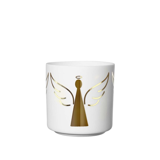 Svícen XMAS anděl 6,8cm_0