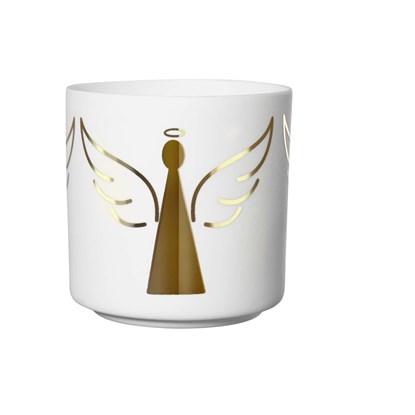 Svícen XMAS anděl 8,8cm_0