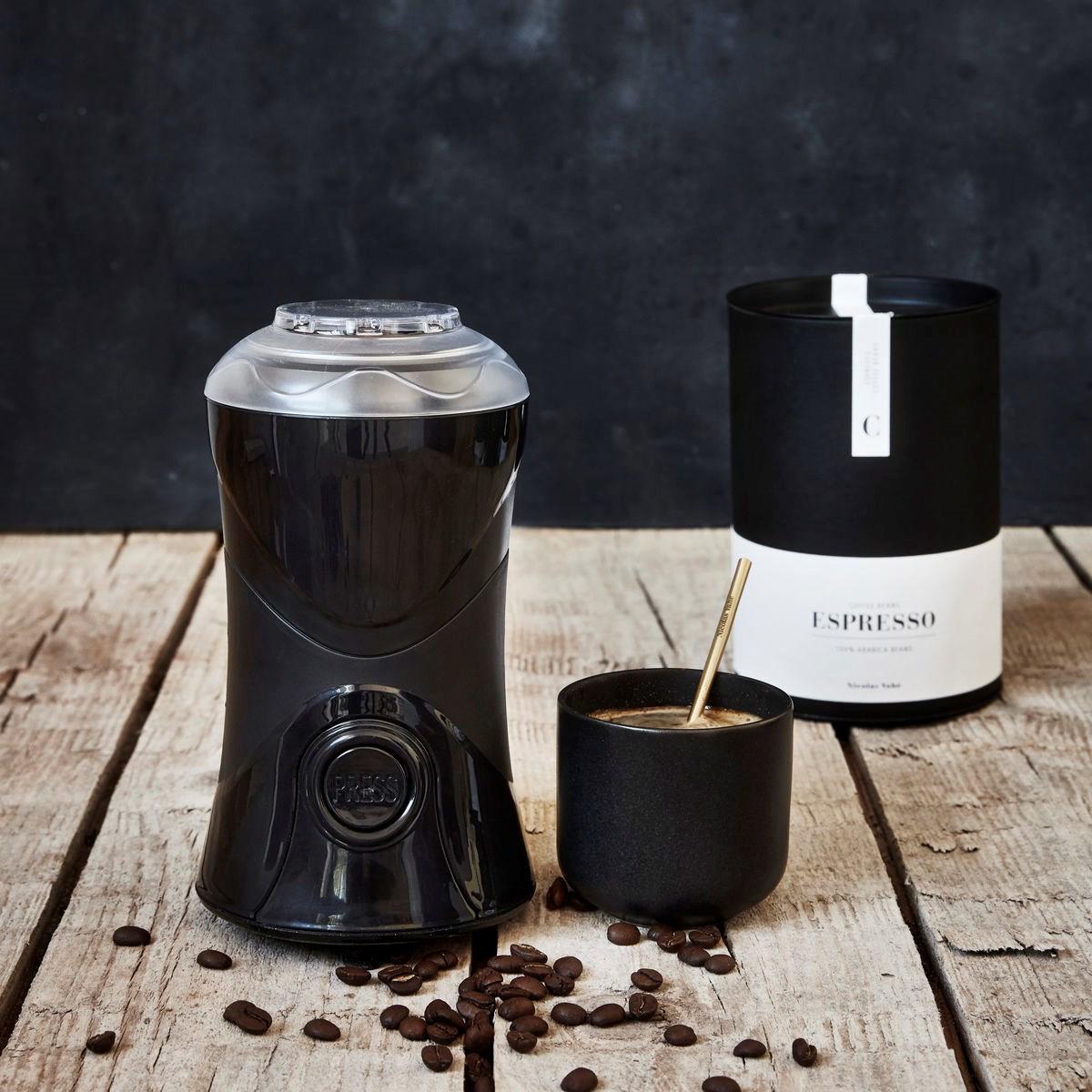 Mlýnek na kávu elektrický - černý_1
