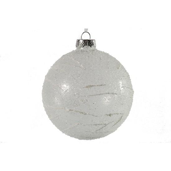 Vánoční ozdoba Annick L bílá_0