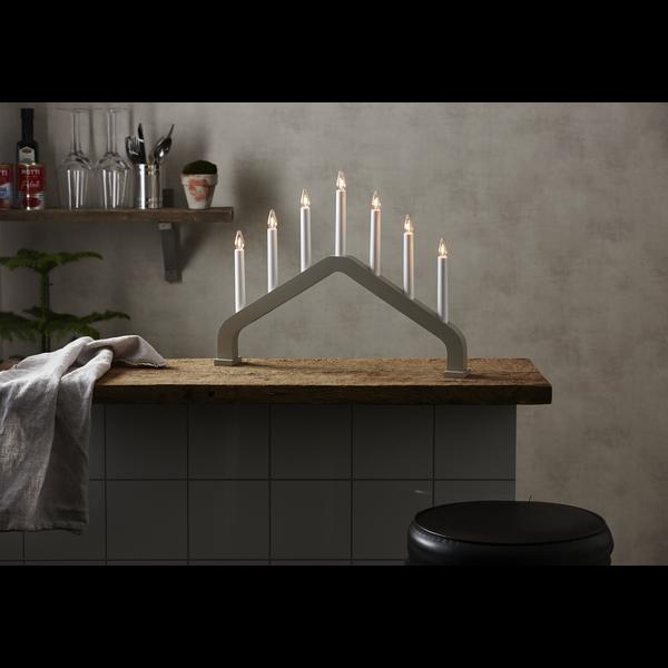 """LED okenní svícen """"House"""", 7 žárovek_1"""