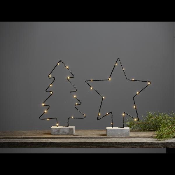 """LED-Dekor. osvětlení dřevěné """"Cemmy TREE_2"""