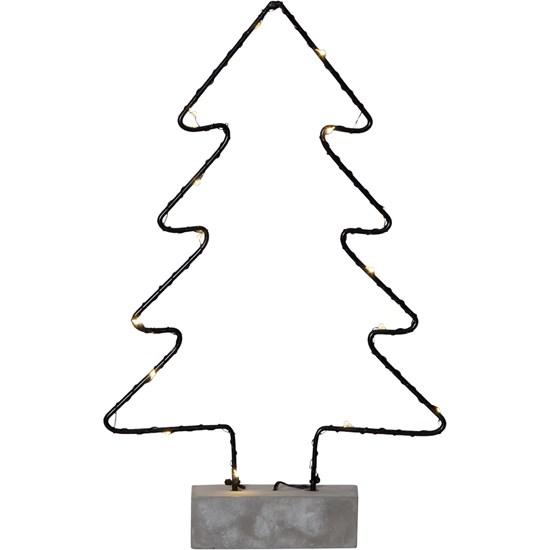 """LED-Dekor. osvětlení dřevěné """"Cemmy TREE_1"""