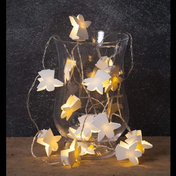 """LED-světelný řetěz """"Paperwork Angels"""" 16_0"""