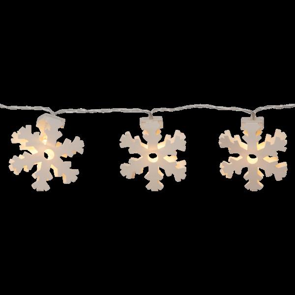 """LED-světelný řetěz """"Paperwork Snowflake""""_0"""