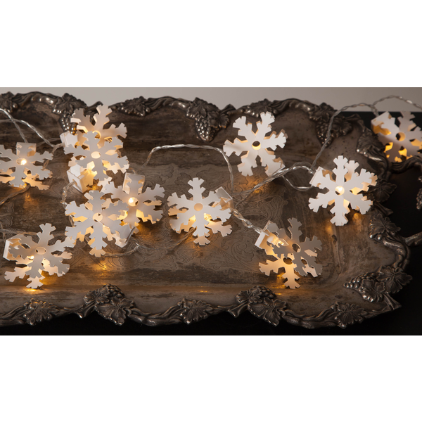 """LED-světelný řetěz """"Paperwork Snowflake""""_1"""