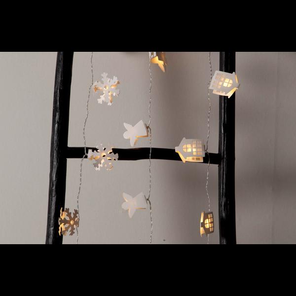 """LED-světelný řetěz """"Paperwork Snowflake""""_2"""