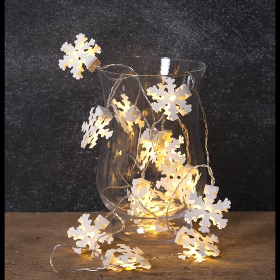 """LED-světelný řetěz """"Paperwork Snowflake""""_3"""