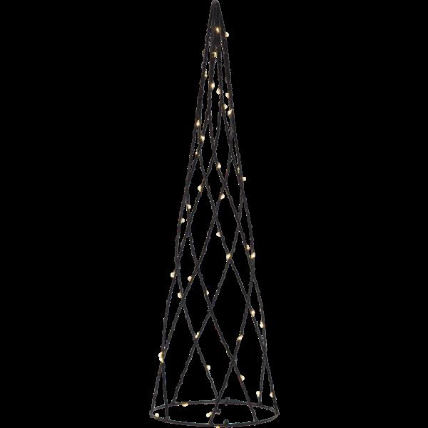 """LED-dekokužel """"Helix"""", ca.12 x 40 cm_0"""