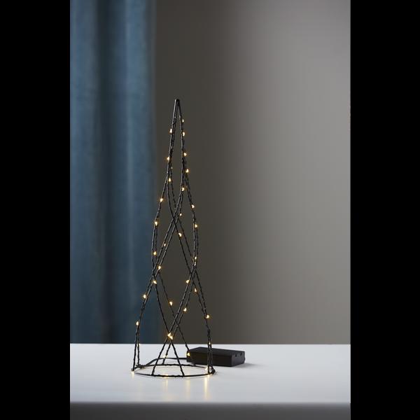 """LED-dekokužel """"Helix"""", ca.12 x 40 cm_3"""
