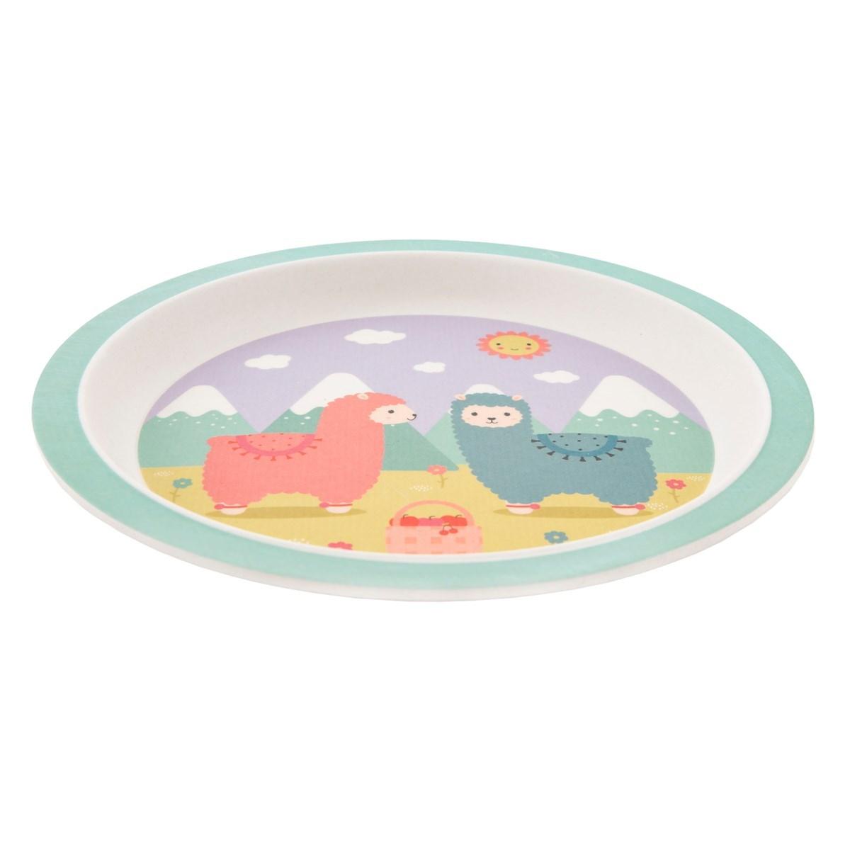 Dětský jídelní SET Little Llama_3