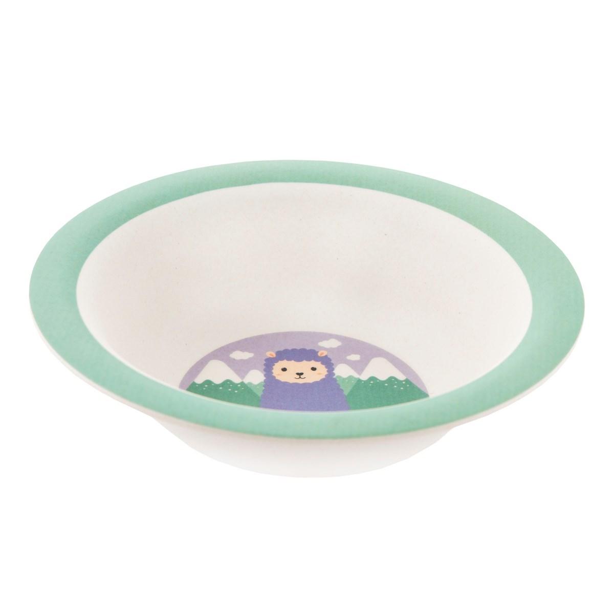 Dětský jídelní SET Little Llama_4