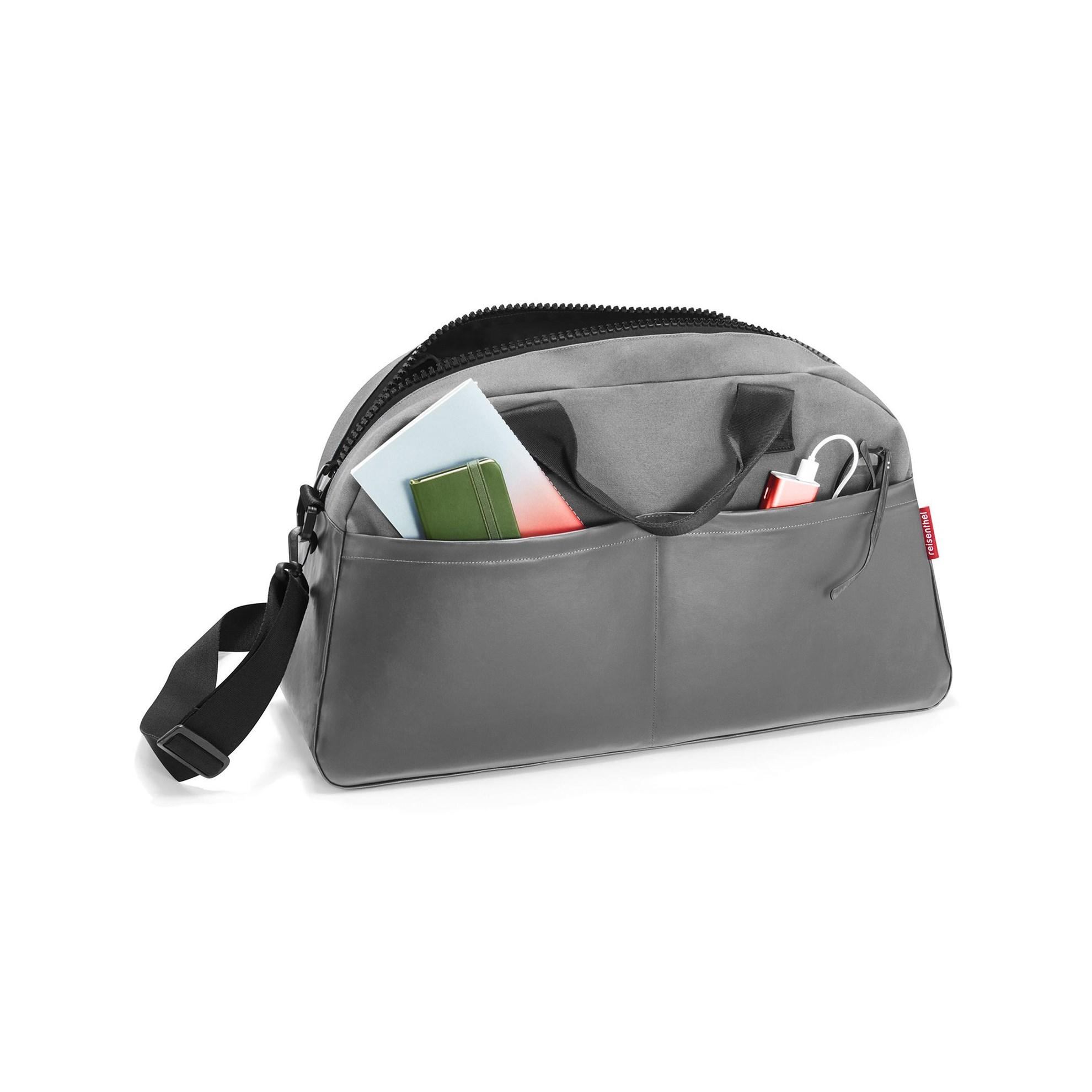 Cestovní taška OVERNIGHTER canvas grey_0