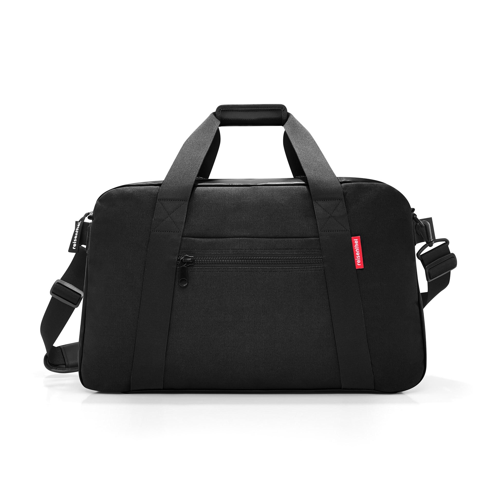 Cestovní taška TRAVELLER canvas black_0
