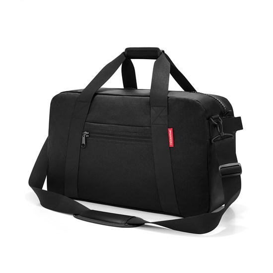 Cestovní taška TRAVELLER canvas black_1
