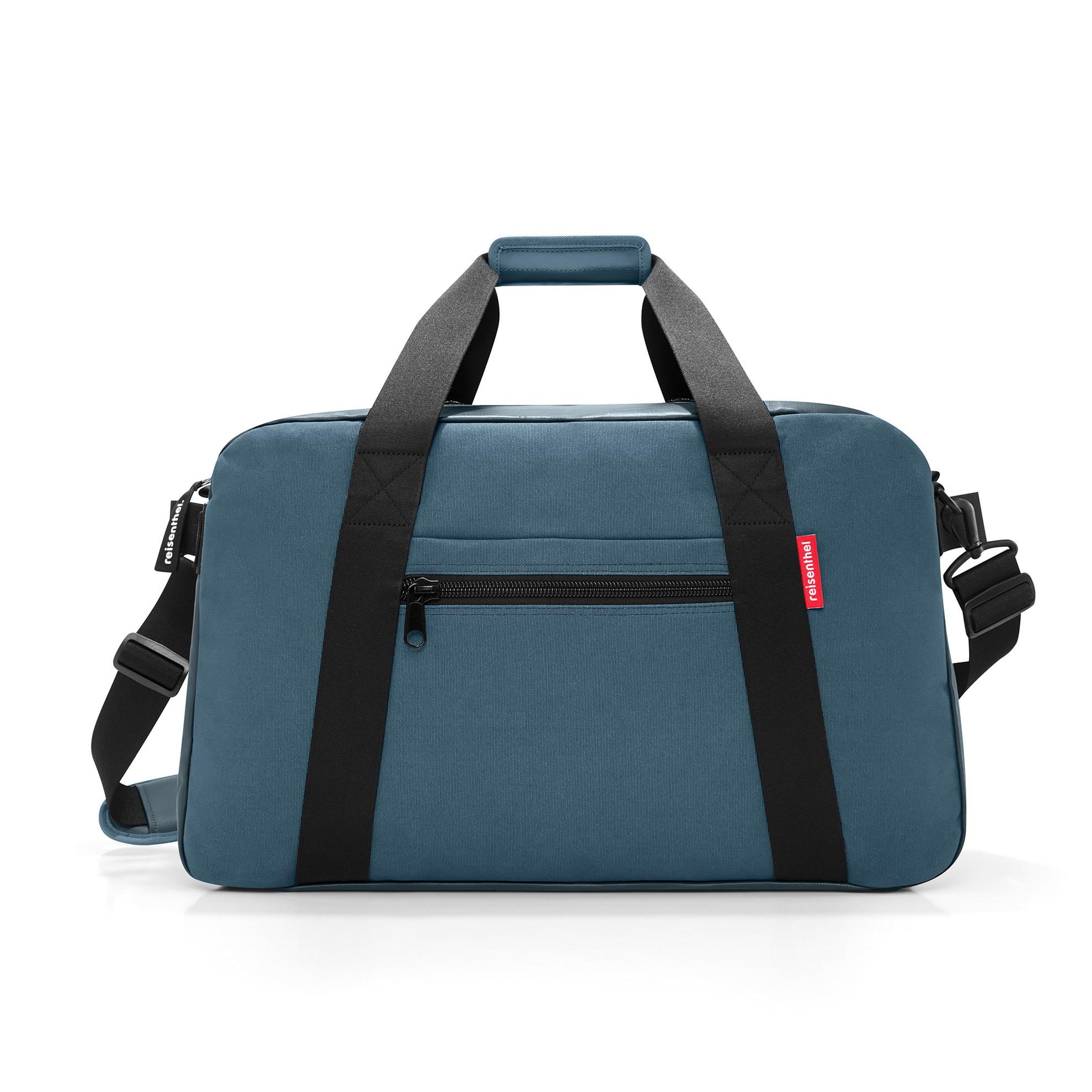 Cestovní taška TRAVELLER canvas blue_0