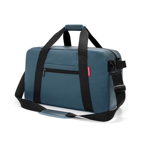 Cestovní taška TRAVELLER canvas blue_1