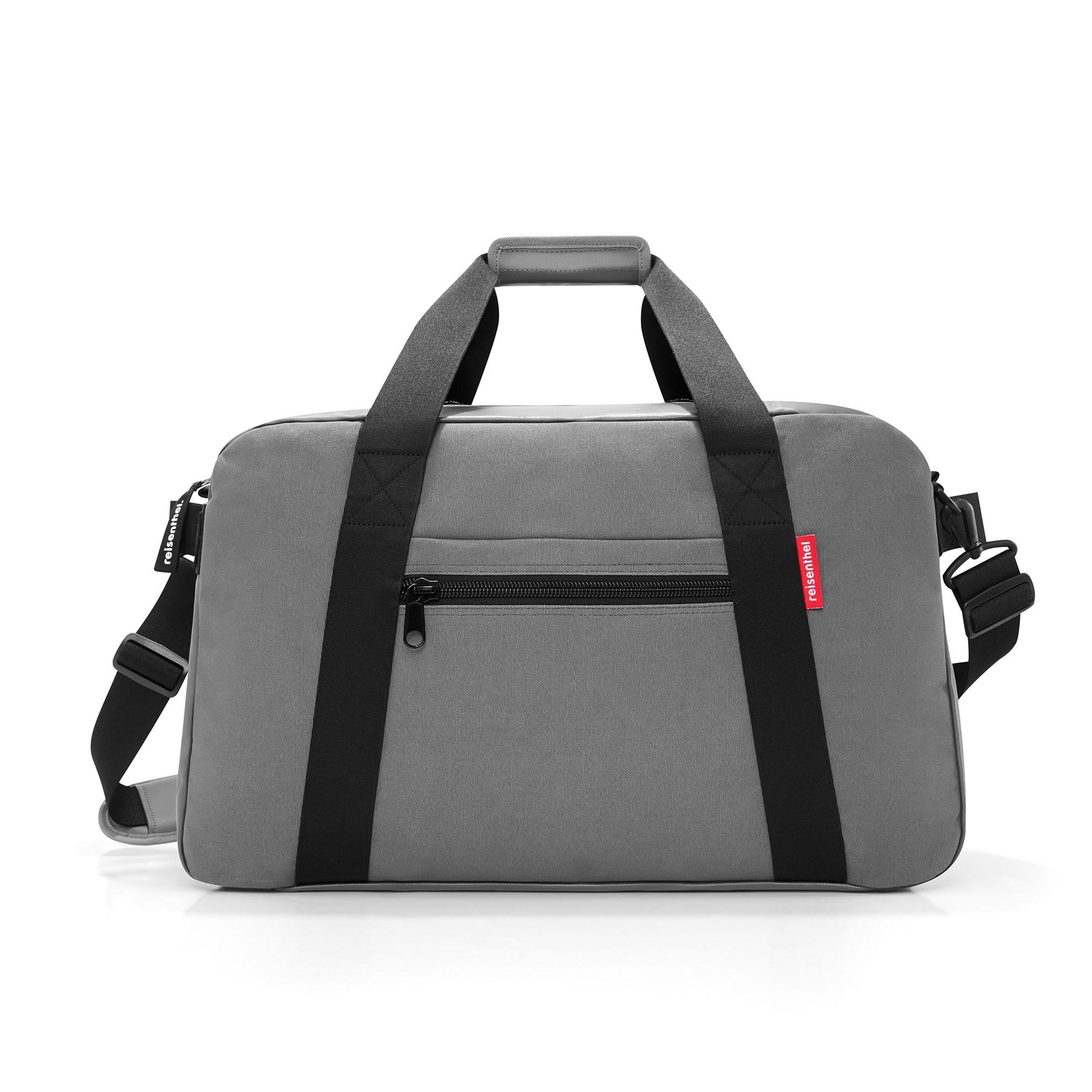 Cestovní taška TRAVELLER canvas grey_0