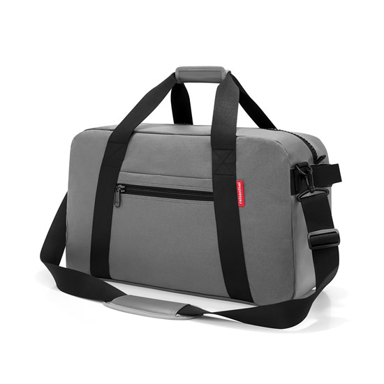 Cestovní taška TRAVELLER canvas grey_1