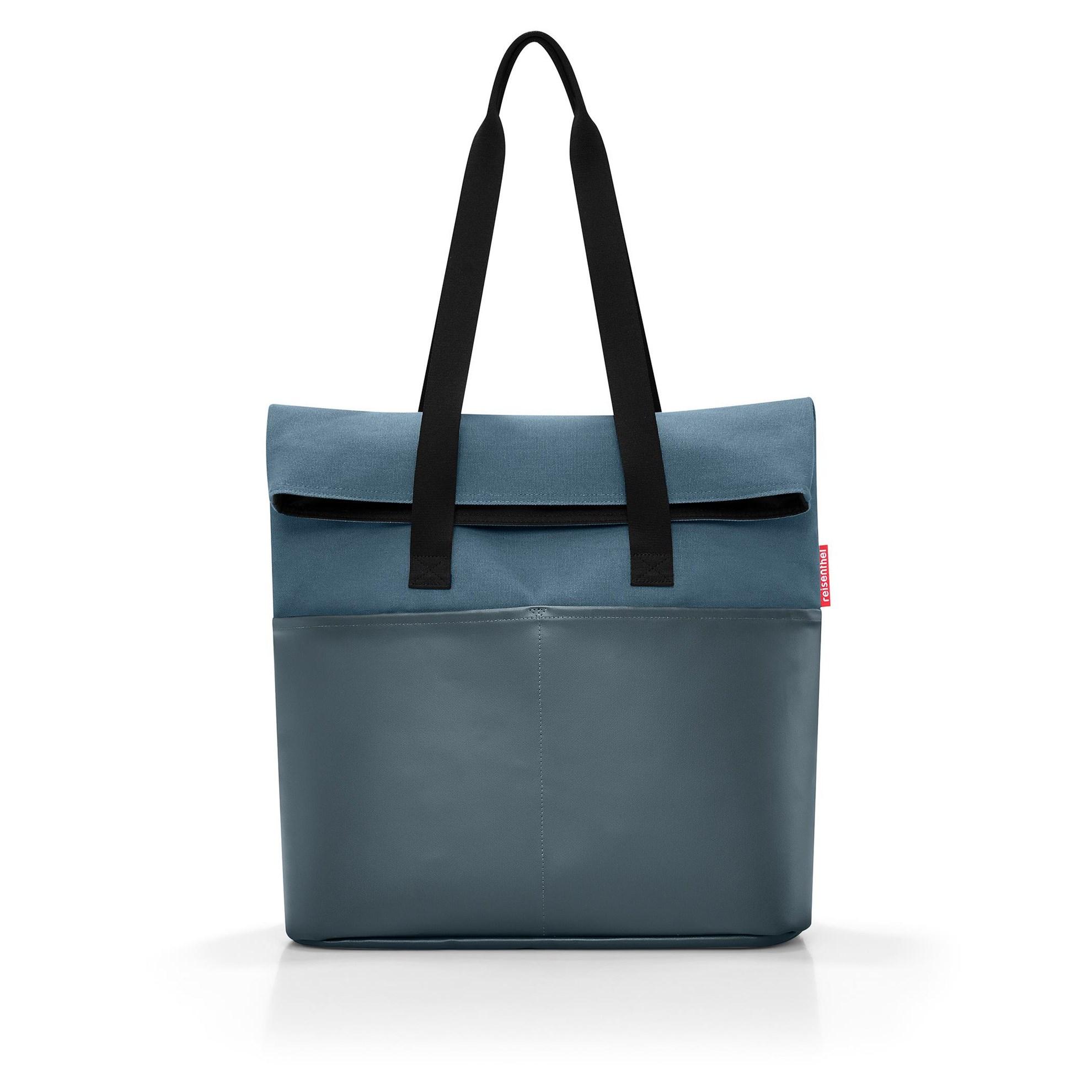 Modní taška FOLDBAG canvas blue_0