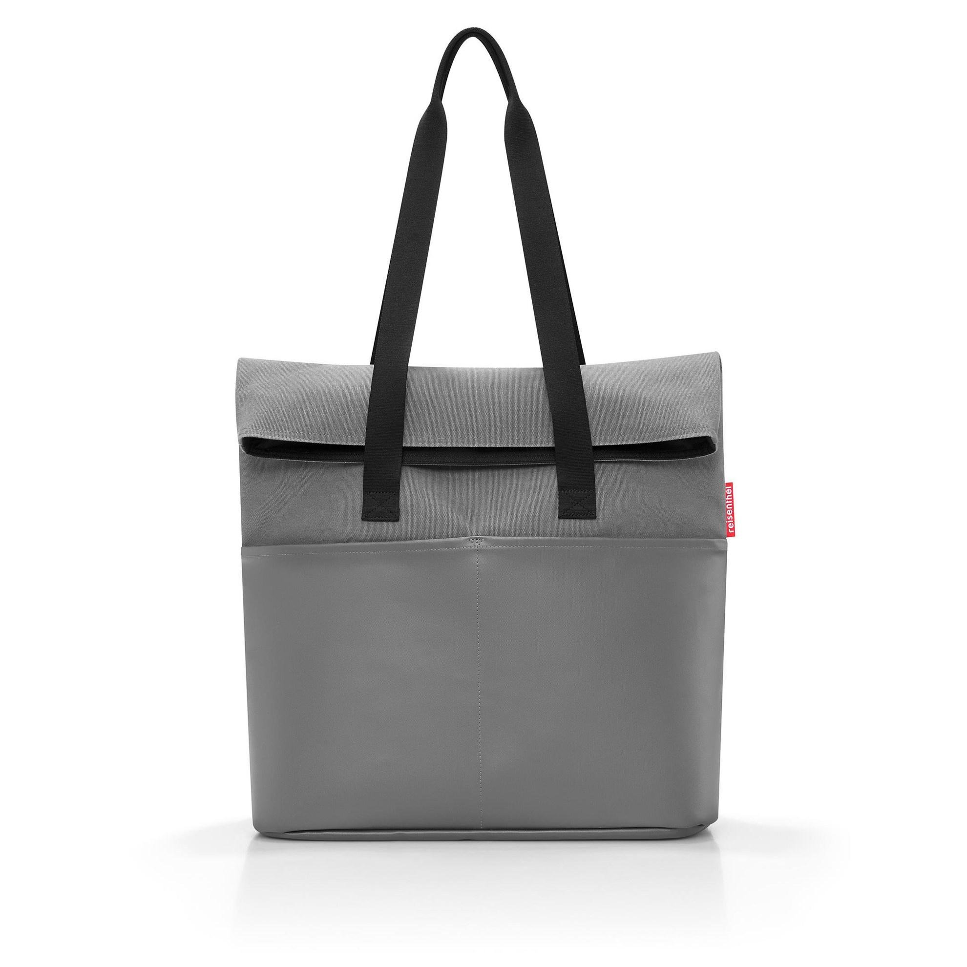 Modní taška FOLDBAG canvas grey_0