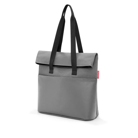 Modní taška FOLDBAG canvas grey_2
